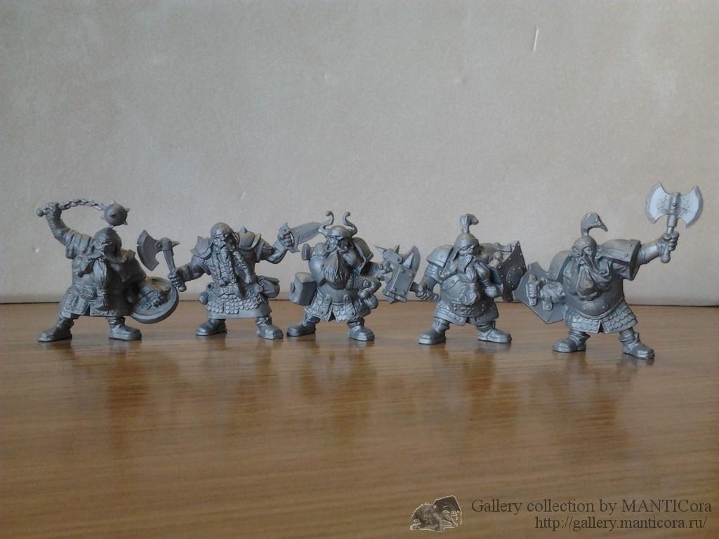 Боевые гномы, отряд