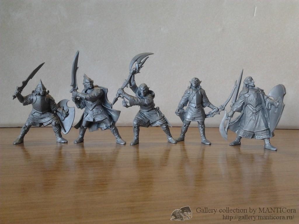 Эльфы-Верховные воины. Отряд Элитар